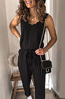 Womens fashion casual jumpsuit