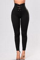 Drawstring Skinny Pants