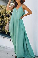 Casual Loose Tie-dye Sleeveless Dress