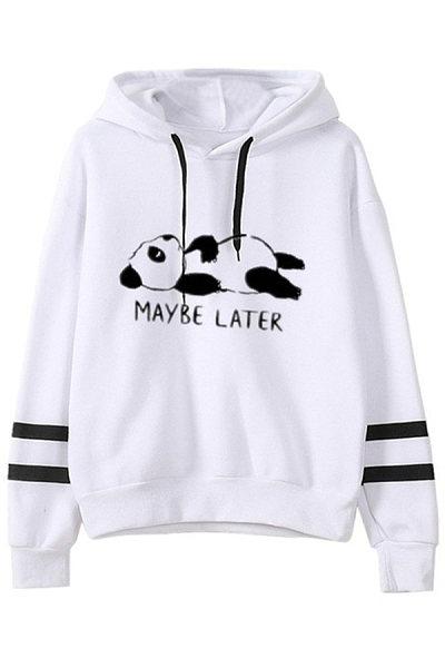 Women's Fashion Casual Panda Hoodie