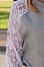 Round Neck  Lace Patchwork T-Shirts