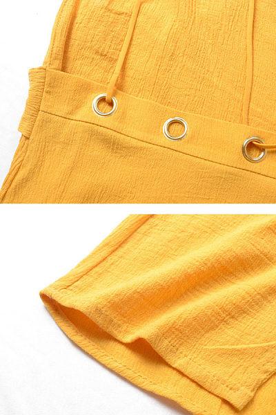 V Neck  Asymmetric Hem Backless  Belt  Plain  Sleeveless Maxi Dresses