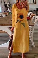 2020 Printed Maxi Dress