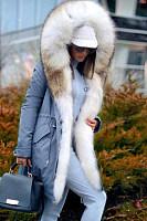Noble Imitation Mane Fluffy Coat
