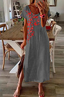 2020 Summer Printed Maxi Dress
