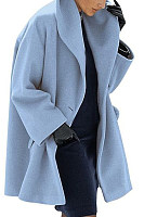 New Warm Fashion Multi-Color Shawl Collar Coat