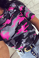 Camouflage Casual T-Shirts