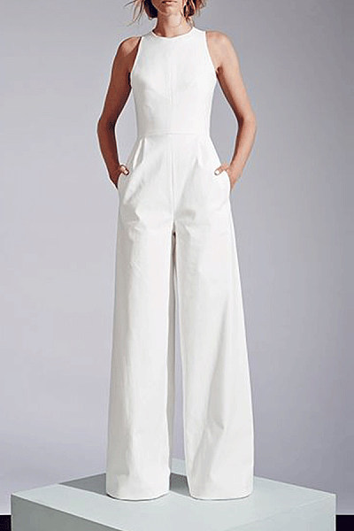 Elegant Spring Summer New Arrival Jumpsuit With Pockets