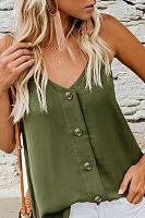 Fashion Casual Sling Plain Loose T Shirt