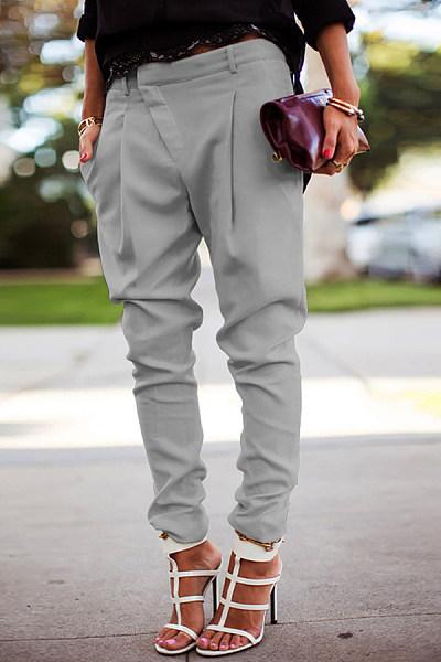 Casual High Waist Harlan Tight Pants