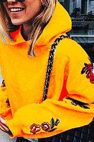 Fashion Casual Hooded Print Sweatshirt