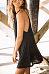 Halter  Plain  Sleeveless Casual Dresses