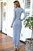 Deep V Neck Asymmetric Hem Empire Line Maxi Dresses