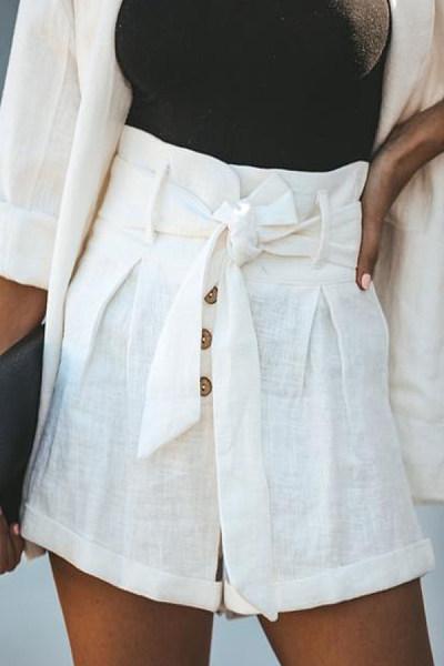 Casual Summer Plain Pants