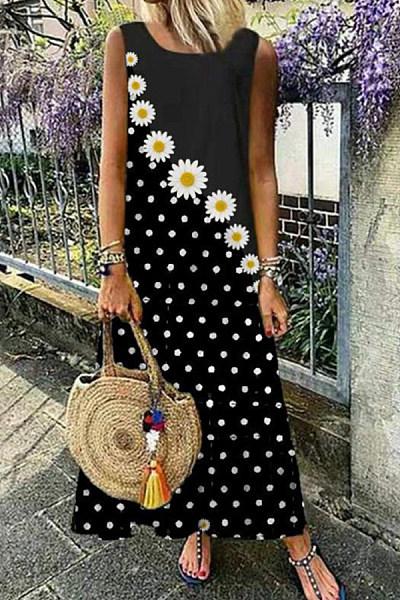2020 Summer Printed Maxi Dress