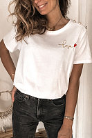 Womens Fashion Casual T-shirt