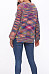 Round Neck  Loose Fitting  Ikat Sweaters