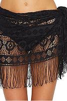 Tassel  Plain  Basic Skirts