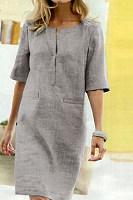 2020 Summer Cotton Linen Dress