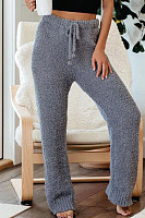 Women Daily Plain Pants