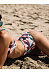 Round Neck  Plaid Bikini