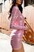 Deep V Neck  Plain  Long Sleeve Bodycon Dresses
