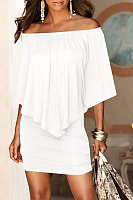 Sleeveless sleeveless solid color dress