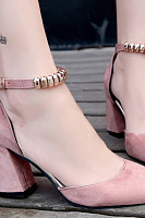 Decorative Hardware  Plain Heels