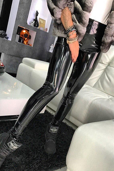 Long  Sheath  Plain Leggings