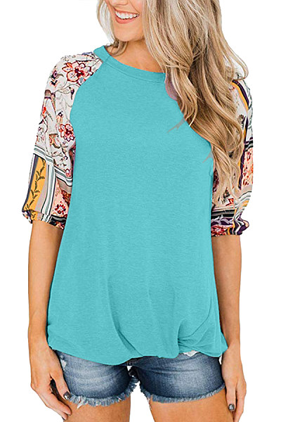 Round Neck Half Sleeve Plain T-Shirt