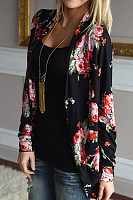 Blend  Casual  Autumn  Print  Cardigans