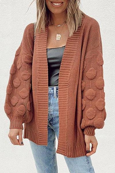 Women Fashion Casual Knit Cardigans