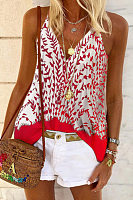 Sling Printed Casual Vest