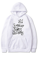 Casual Long Sleeve Letters Printed Hoody