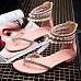 Bohemian  Flat  Peep Toe  Casual Date Flat Sandals