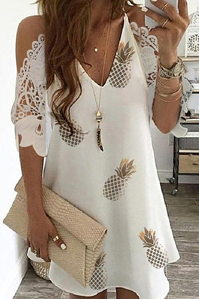 2020 Summer Casual Printed Dress