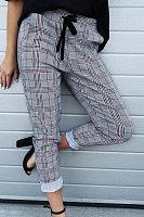Long  Checkered  Casual  Pants