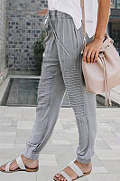 Stylish loose-fitting individual trousers