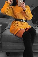 High Neck  Ruffle Trim  Plain Sweaters
