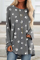 Long Sleeve Printed T-shirt