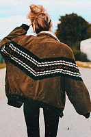 Vintage Striper Women's Cotton Jacket