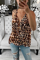 Casual Sling Leopard Print Camis