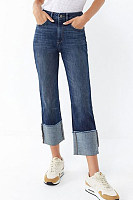 High Waist Pocket Fitting Slim Jeans
