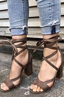 Plain Sandals