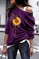 Christian Sunflower Long Sleeve Sweatshirt