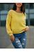 Round Neck  Plain Sweaters