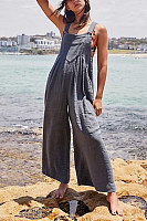 Women Casual Overall  Plain Jumpsuits