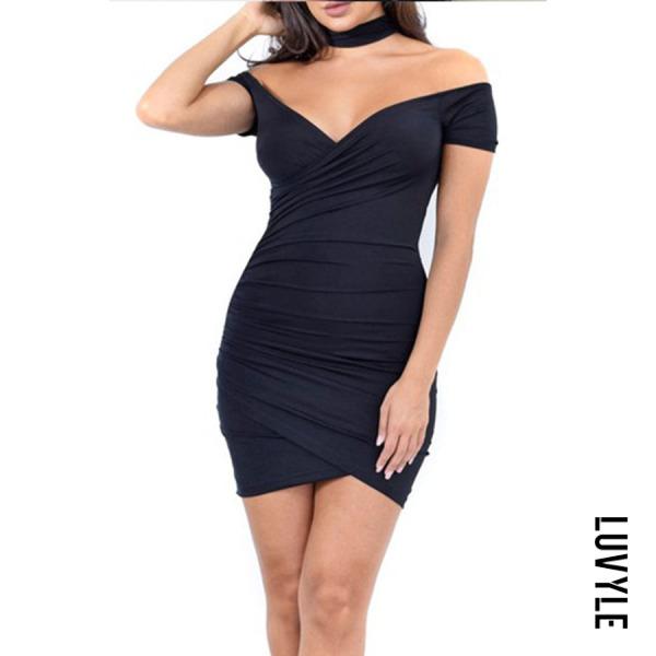 Black Strapless Backless Plain Bodycon Dresses Black Strapless Backless Plain Bodycon Dresses