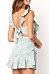 Spaghetti Strap  Backless  Printed  Sleeveless Casual Dresses