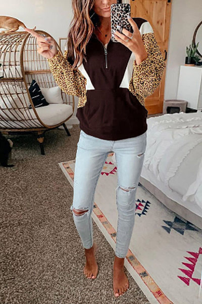 Women Casual Colouring Sweatershirt